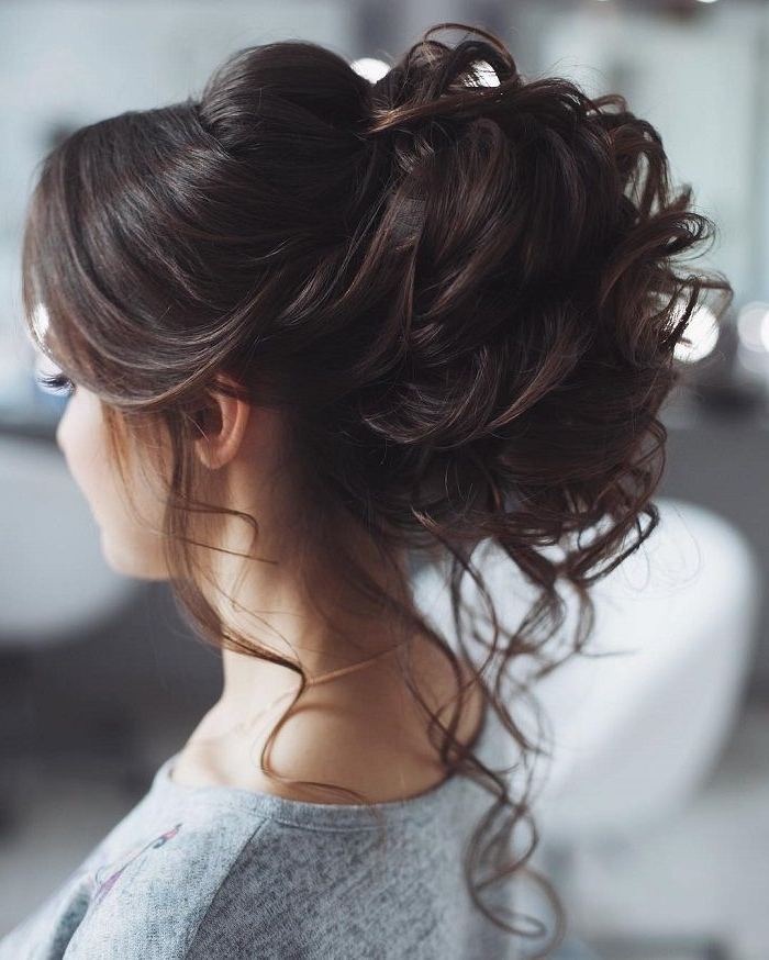 58 Messy Updo Wedding Hairstyles For Your Wedding Day | Pinterest Pertaining To Messy Wedding Hairstyles For Long Hair (View 5 of 15)