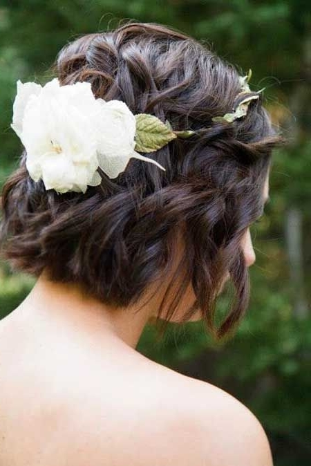 59 Stunning Wedding Hairstyles For Short Hair 2017 Throughout Wedding Hairstyles With Short Hair (View 10 of 15)