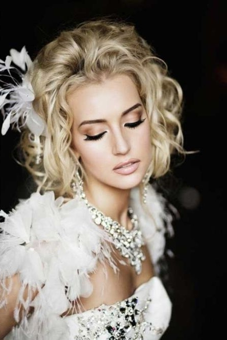 59 Stunning Wedding Hairstyles For Short Hair 2017 With Regard To Bob Wedding Hairstyles (View 10 of 15)