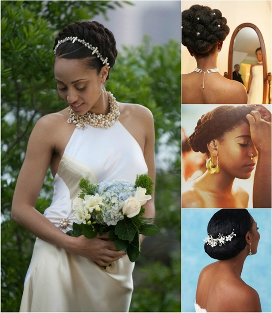 6 Fabulous Black Women Wedding Hairstyles In Fall 2013 – Vpfashion Within Wedding Hairstyles For Short Hair With Extensions (View 14 of 15)