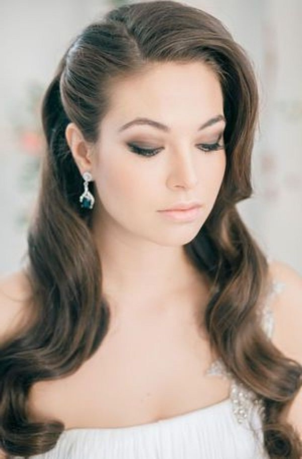 60 Best Wedding Look Images On Pinterest | Bridal Hairstyles With Regard To Retro Wedding Hairstyles For Long Hair (View 11 of 15)