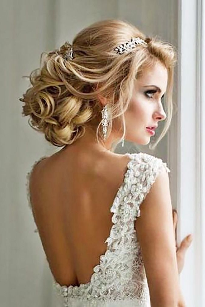600+ Best Up Do Hair Style Images On Pinterest | Hair Ideas Within Wedding Updos For Long Hair With Tiara (View 8 of 15)