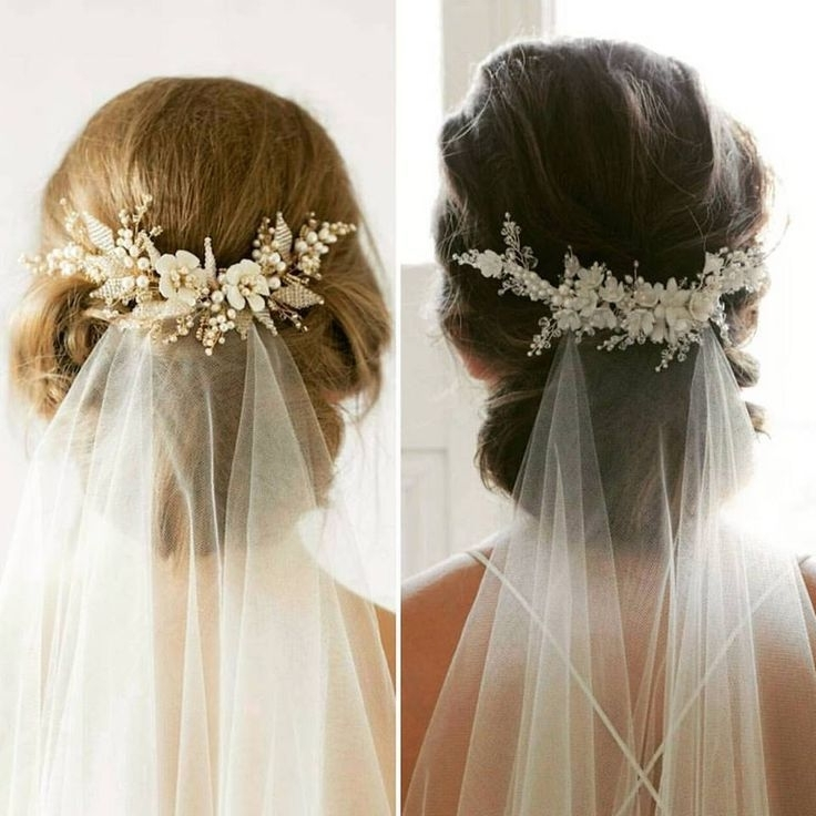 63 Perfect Hairdo Ideas For A Flawless Wedding Hairstyle With Veil In Wedding Hairstyles For Long Hair Up With Veil (View 8 of 15)