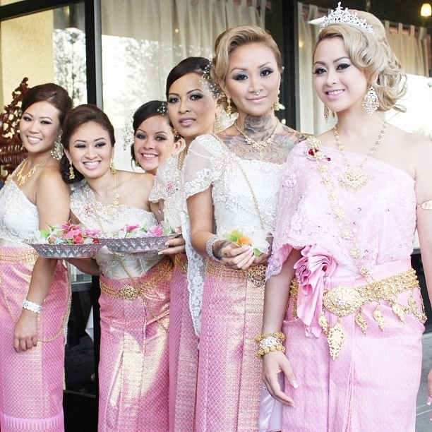 64 Best Traditional Cambodian Wedding Images On Pinterest | Khmer For Khmer Wedding Hairstyles (View 12 of 15)