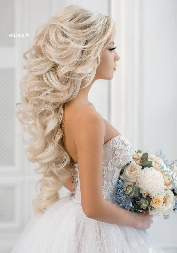 Featured Photo of Wedding Hairstyles For Long Blonde Hair