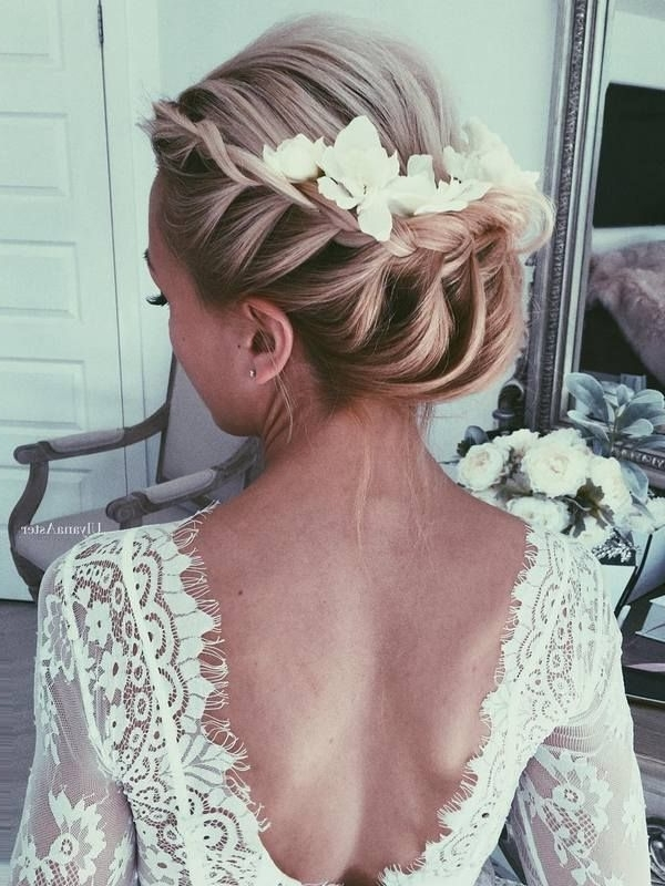 65 New Romantic Long Bridal Wedding Hairstyles To Try | Aster, Updos Within Wedding Hairstyles For Long Romantic Hair (View 13 of 15)