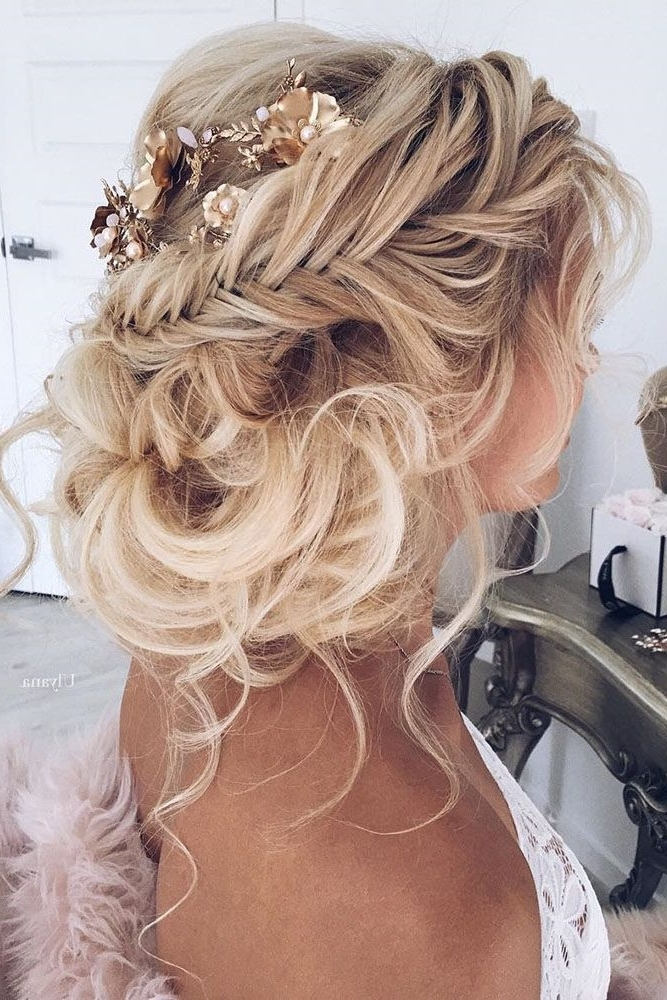 65 New Romantic Long Bridal Wedding Hairstyles To Try | Boho Wedding Within Wedding Hairstyles For Long Boho Hair (View 13 of 15)
