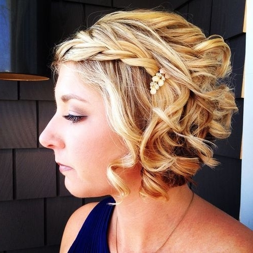 68 Best Wedding Hair Images On Pinterest | Short Hairstyles With Regard To Wedding Hairstyles For Short Curly Hair (View 13 of 15)