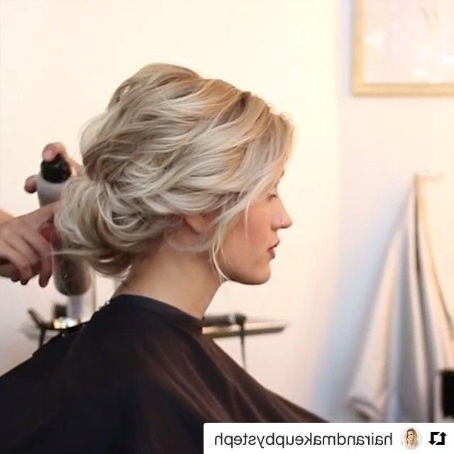 689 Best Hair Images On Pinterest | Dark Hair, Hair Cuts And Hair Ideas Regarding Wedding Hairstyles For Short Dark Hair (View 11 of 15)