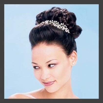 7 Best Classic Wedding Hair Updos Images On Pinterest | Bridal For Classic Wedding Hairstyles For Medium Length Hair (View 7 of 15)