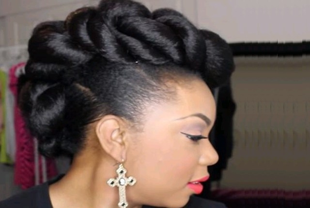 7 Bridal Hairstyles For African Brides | Style Presso In African Wedding Hairstyles (View 7 of 15)