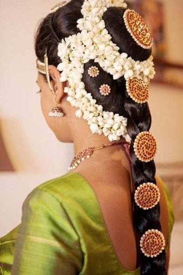 7 Unique Photos Of Hindi Wedding Hairstyles | Wedding Ideas And With Wedding Hairstyles For Indian Bridal (View 15 of 15)