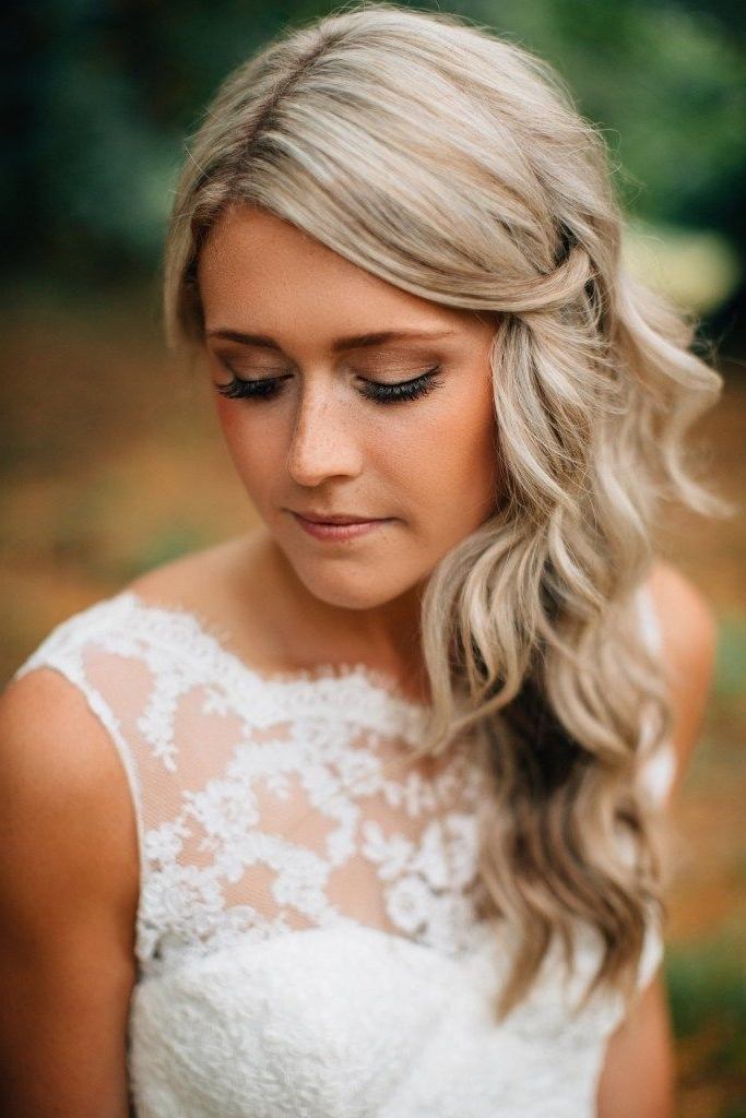 70 Best Wedding Hairstyles – Ideas For Perfect Wedding | Perfect Within Casual Wedding Hairstyles (View 8 of 15)