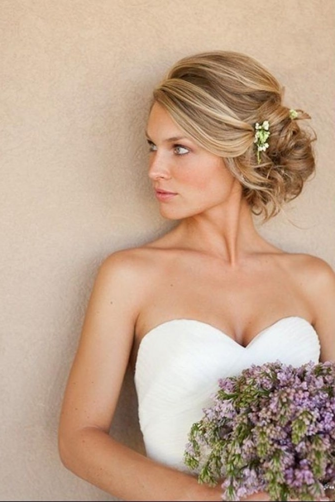 70 Wedding Hairstyles For Your Big Day With Regard To Wedding Hairstyles For Bride (View 5 of 15)