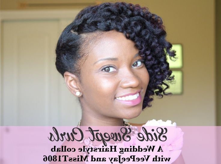 704 Best Z Natural Hairstyles To Try Images On Pinterest | Black Within Wedding Hairstyles For Natural Kinky Hair (View 8 of 15)