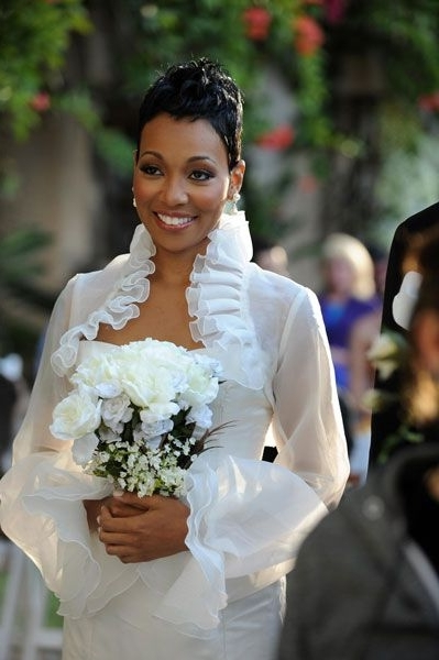 Featured Photo of Short Wedding Hairstyles For Black Bridesmaids