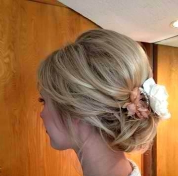 73 Best Wedding Updo Hairstyles Images On Pinterest | Bridal Throughout Bridal Updo Hairstyles For Medium Length Hair (View 15 of 15)