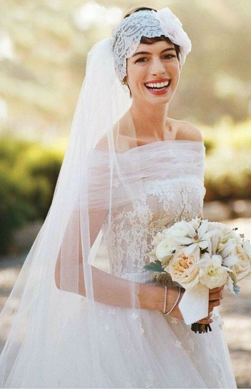 73 Wedding Hairstyles For Long, Short & Medium Hair Pertaining To Wedding Hairstyles For Long Curly Hair With Veil (View 9 of 15)