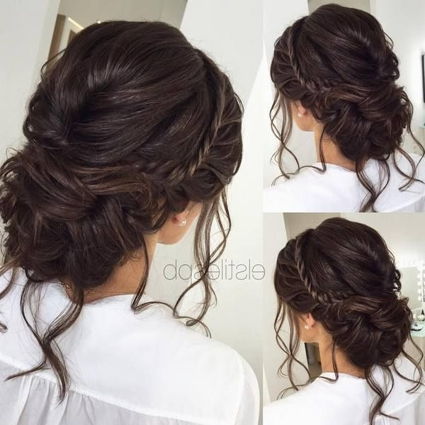 75 Chic Wedding Hair Updos For Elegant Brides | Pinterest | Chongos With Wedding Hairstyles For Dark Hair (View 2 of 15)