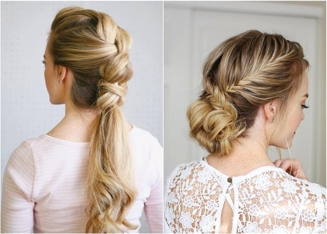 75 Trendy Long Wedding & Prom Hairstyles To Try In 2018 | Deer Pearl Intended For Wedding Evening Hairstyles (View 4 of 15)