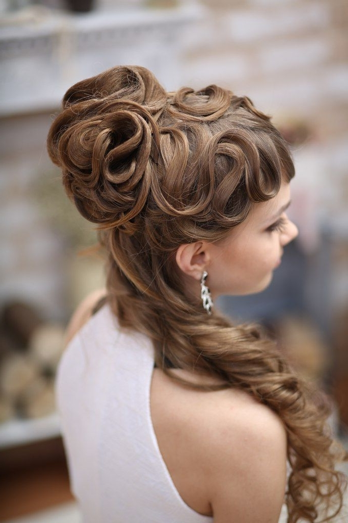 762 Best Hair Cuts And Styles Images On Pinterest | Hair Dos Inside Modern Wedding Hairstyles For Medium Length Hair (View 15 of 15)