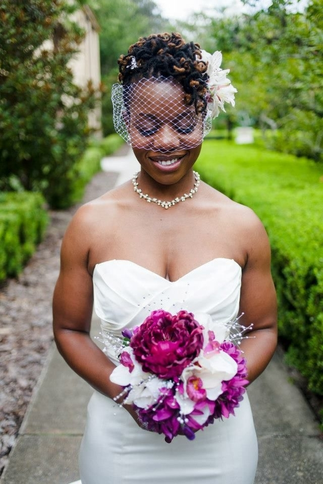 78 Best Loc Wedding Hairstyles Images On Pinterest | Bridal For Wedding Hairstyles With Dreads (View 7 of 15)