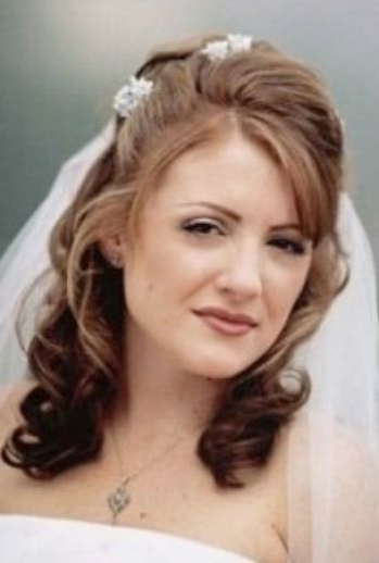 Featured Photo of Wedding Hairstyles For Medium Length Hair With Bangs