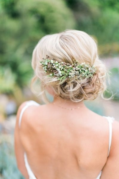 8 Best Ú?es Images On Pinterest | Wedding Hair Styles, Bridal Inside Spring Wedding Hairstyles For Bridesmaids (Gallery 6 of 15)