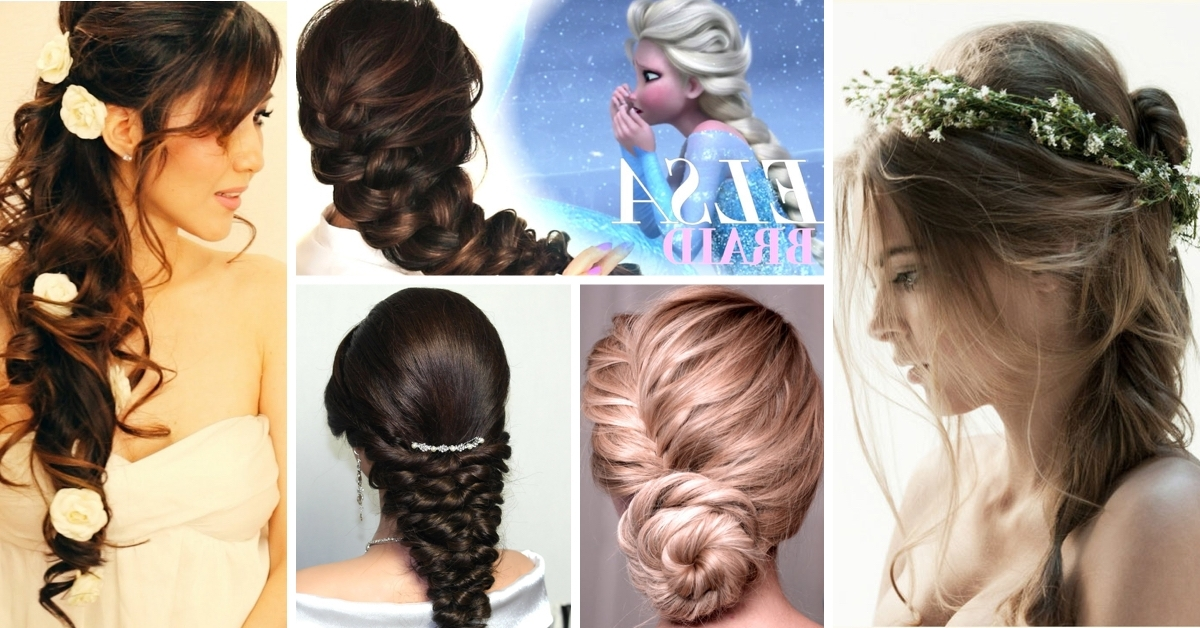 80+ Wedding Hairstyles For Long Hair That Will Make You Feel Like A Intended For Wedding Hairstyles At Home (View 8 of 15)