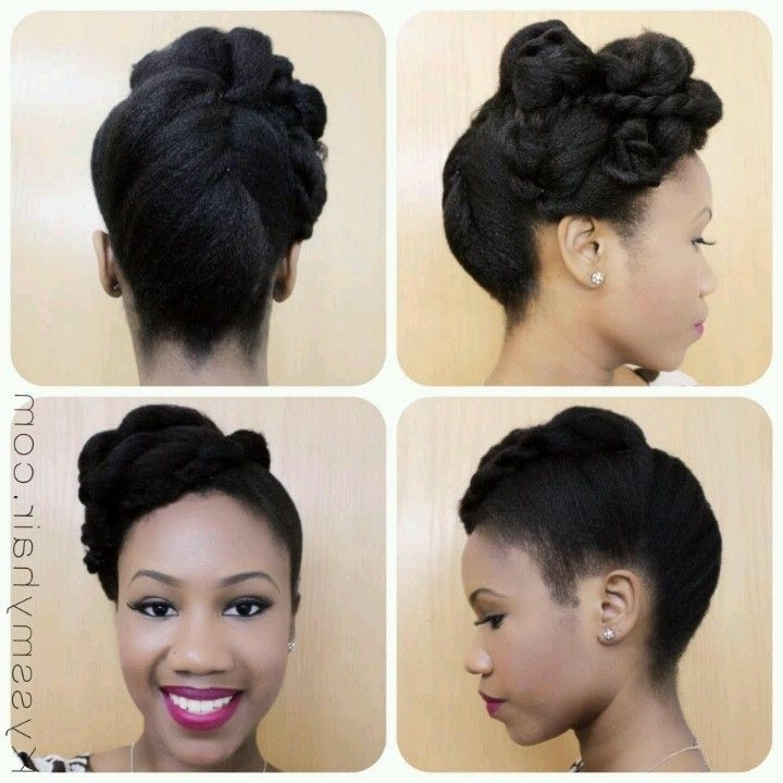 84 Best Wedding Hairstyles For Natural Hair Images On Pinterest For Wedding Hairstyles For Natural Afro Hair (Gallery 12 of 15)