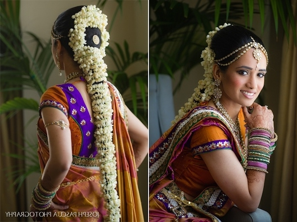 87 Best Bride Kondai Images On Pinterest   Hair Dos, Hairstyle Ideas Throughout South Indian Tamil Bridal Wedding Hairstyles (Gallery 15 of 15)
