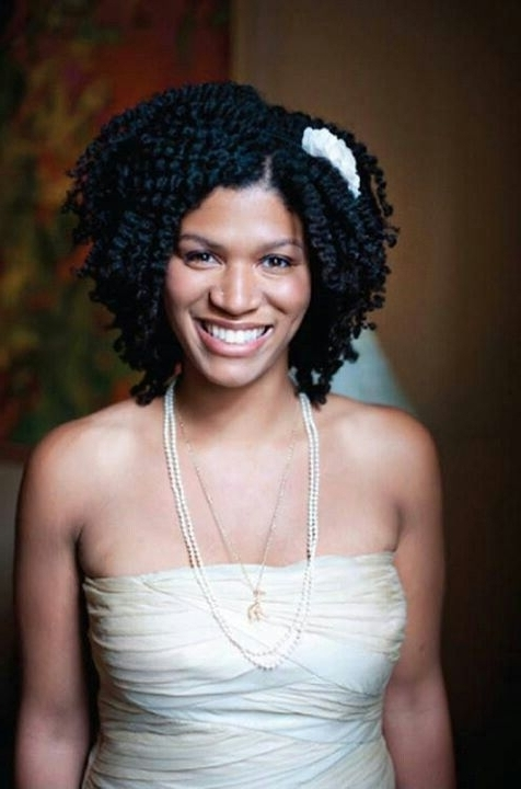 9 Beautiful Wedding Styles For Short Natural Hair You Will Love … In Wedding Hairstyles For Short Natural Hair (View 4 of 15)