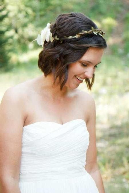 9 Best Beach Wedding Hair Images On Pinterest | Hairstyle Ideas Within Beach Wedding Hairstyles For Short Hair (View 2 of 15)