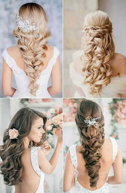 9 Best Curly Hair ( Hairstyles) Images On Pinterest | Bridal For Wedding Hairstyles For Long Curly Hair (View 7 of 15)