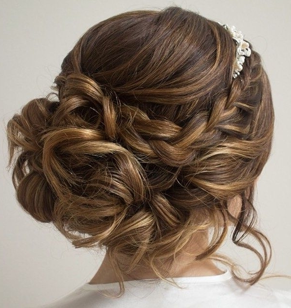 9 Best Wedding Hairstyles Images On Pinterest | Bridal Hairstyles Pertaining To Hair Up Wedding Hairstyles (View 15 of 15)