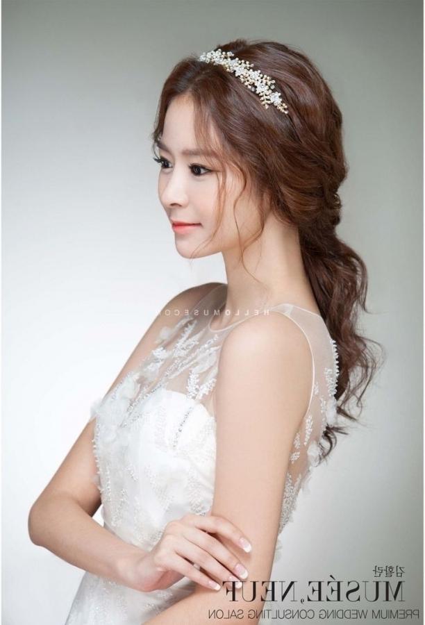 9 Best Wedding: Makeup Images On Pinterest | Hair Wedding, Bride With Regard To Korean Wedding Hairstyles (View 12 of 15)