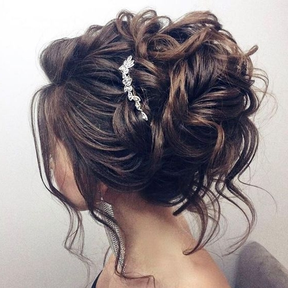 A Medium Length May Set Some Restrictions On Variability Of For Medium Length Updo Wedding Hairstyles (View 4 of 15)