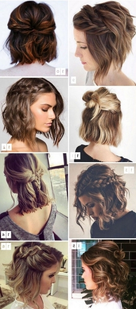 Admirable Short Hair Long Striking Easy A Easy Wedding Guest With Regard To Easy Bridesmaid Hairstyles For Short Hair (View 4 of 15)