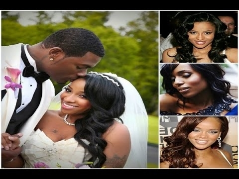 African American Bridal Wedding Hairstyles For Short, Medium, Long With African American Wedding Hairstyles For Medium Length Hair (View 2 of 15)