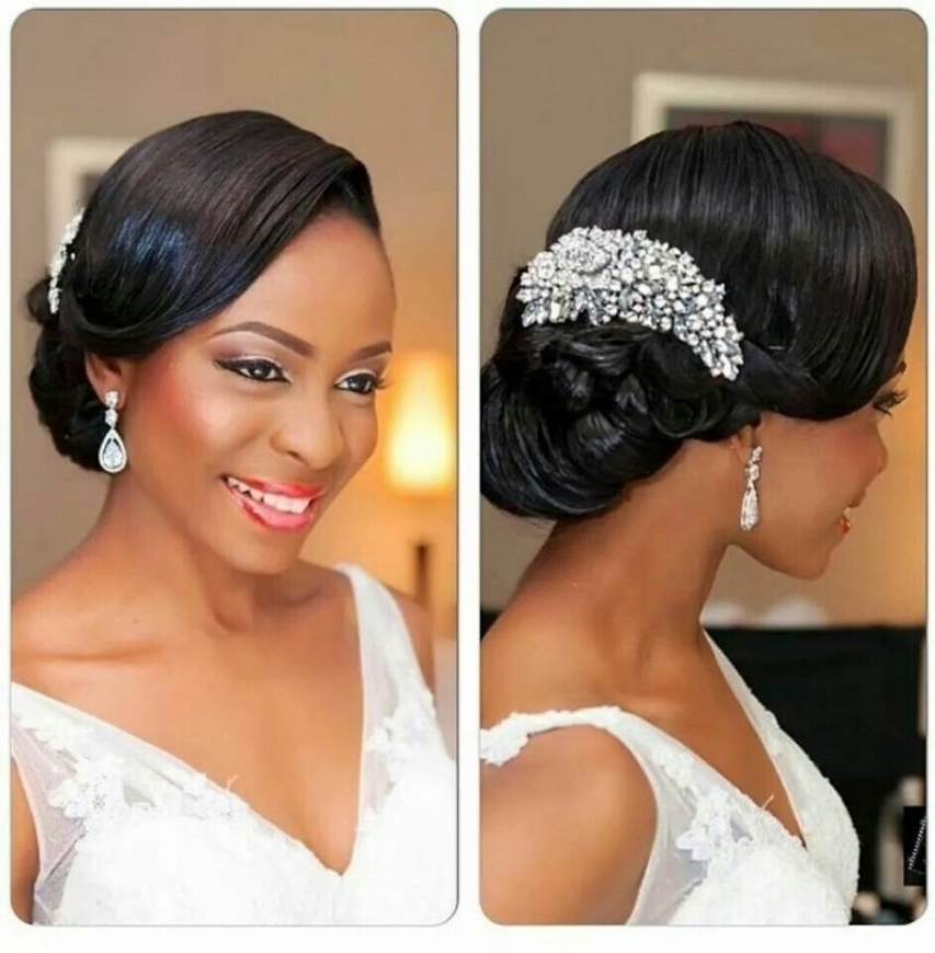 African American Wedding Hair Updos Wedding Hairstyle Black | Latest Intended For Jamaican Wedding Hairstyles (View 13 of 15)