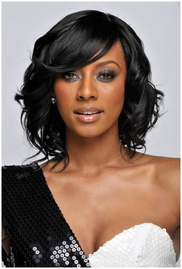 African American Wedding Hairstyles : African American Wedding With Regard To African American Wedding Hairstyles For Medium Length Hair (View 10 of 15)