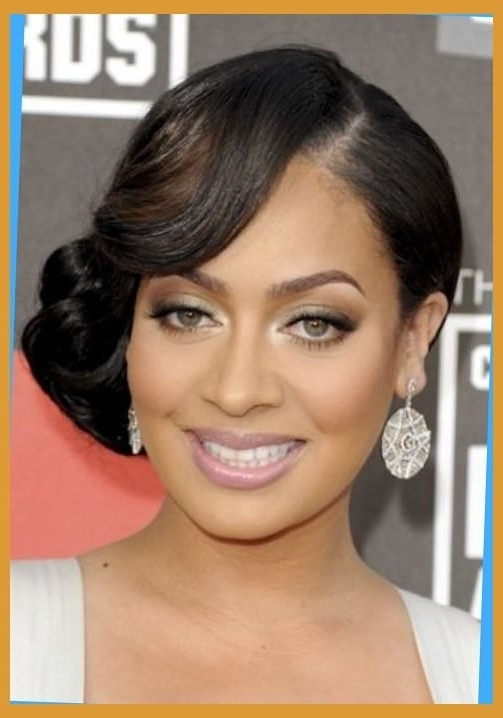 African American Wedding Hairstyles Medium Length Hair | Clever Intended For African American Wedding Hairstyles For Medium Length Hair (View 2 of 15)