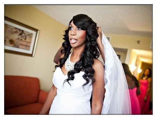 African American Wedding Hairstyles Veil | Medium Hair Styles Ideas Intended For Wedding Hairstyles For Long Hair African American (View 8 of 15)