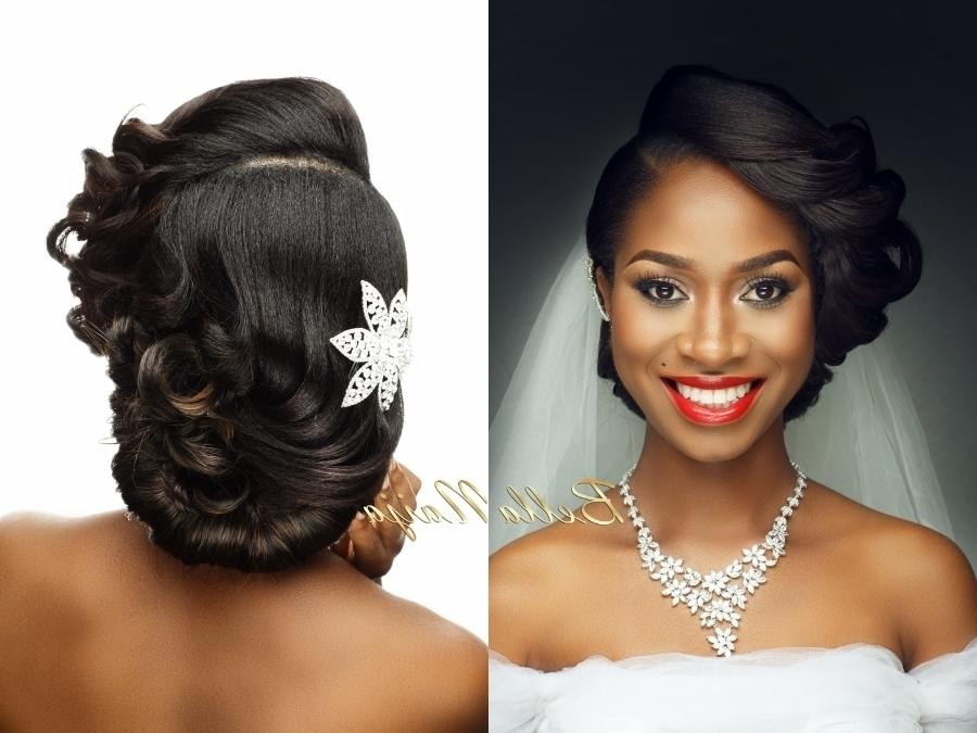 African Bridal Hairstyles Ideas | American Braid Hairstyle Inside African Wedding Hairstyles (View 8 of 15)