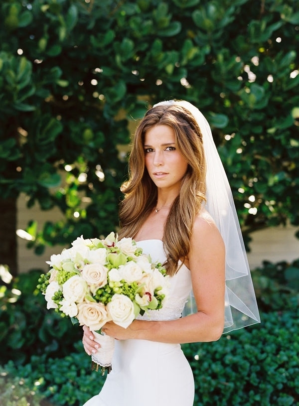 All About Veils | Delica Bridal Within Wedding Hairstyles Down With Veil (View 3 of 15)