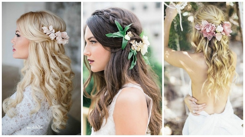 Amazing Wedding Hairstyles For Long Hair Pertaining To Wedding Hairstyles For Long Romantic Hair (View 2 of 15)