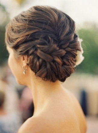 Another 15 Bridal Hairstyles & Wedding Updos Inside Wedding Hairstyles For Long Bun Hair (View 6 of 15)