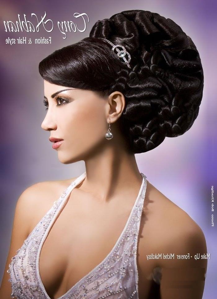 Arabic Wedding Hairstyles | Arabic Hair Stylists And Makeup | Arabic For Arabic Wedding Hairstyles (View 7 of 15)