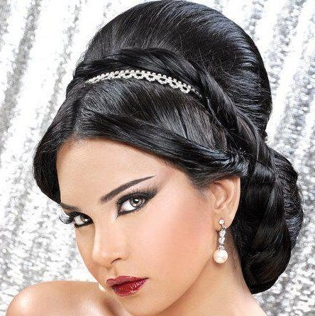Arabic Wedding Hairstyles – Hairstyle For Women & Man Regarding Arabic Wedding Hairstyles (View 5 of 15)