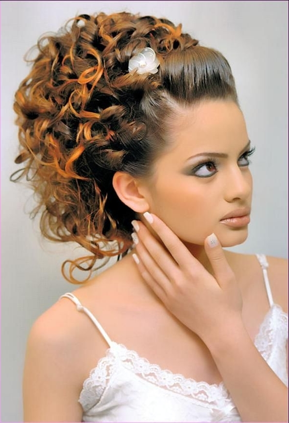 Arabic Wedding Hairstyles | Latest Lebanese Hairstyles For 2012 Inside Arabic Wedding Hairstyles (View 8 of 15)